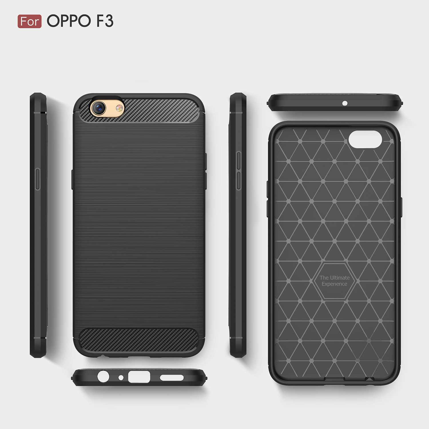 Case Tough Armor Carbon For Oppo F1s A59 Series Rose Free Tempered Source .