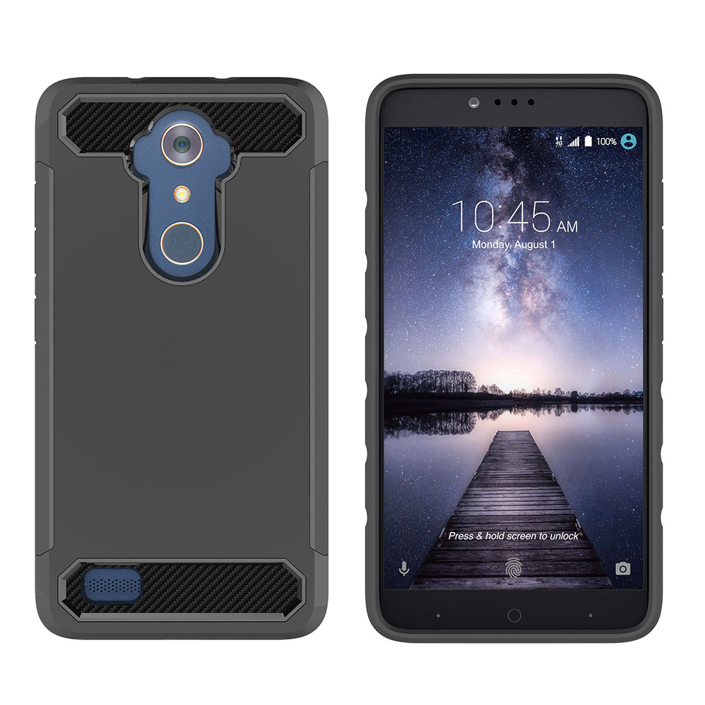 For-ZTE-Zmax-Pro-Z981-Ultra-thin-Silicone-Case-Shockproof-Protective-Armor-Cover