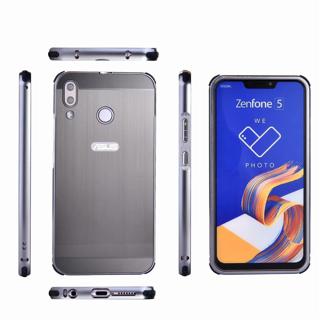 Harga Jual Alumunium Bumper Case Asus Zenfone 2 55 Termurah 2018 Lee Cooper Lc 36g A Jam Tangan Pria Strap Leather Hitam Shockproof Aluminum Metal For 5 5z Ze620kl Brushed Pc