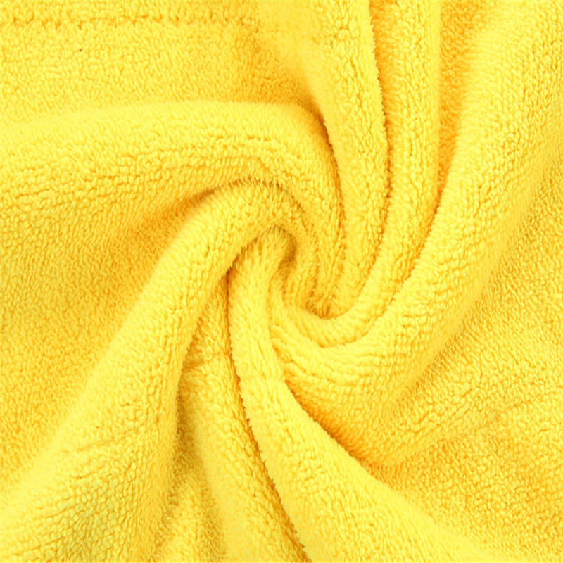 Super Absorbent Car Wash Coral Velvet Soft Cleaning Cloth Towel Drying U7M1