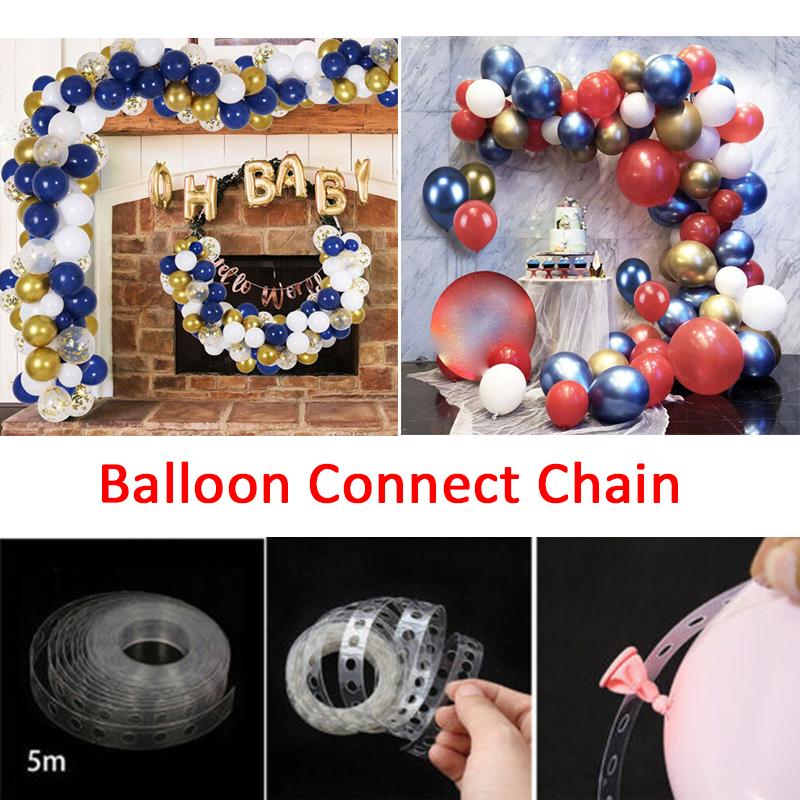 Ballonkette Bogen Verbinden Streifen FüR Hochzeit Geburtstag Party Decor Neu