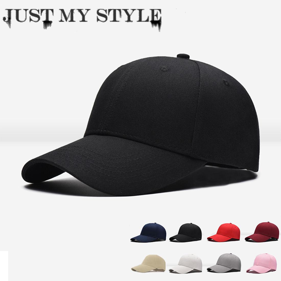 23f43833f83 Details about Men Women New Black Baseball Cap Snapback Hat Hip-Hop  Adjustable Bboy Caps
