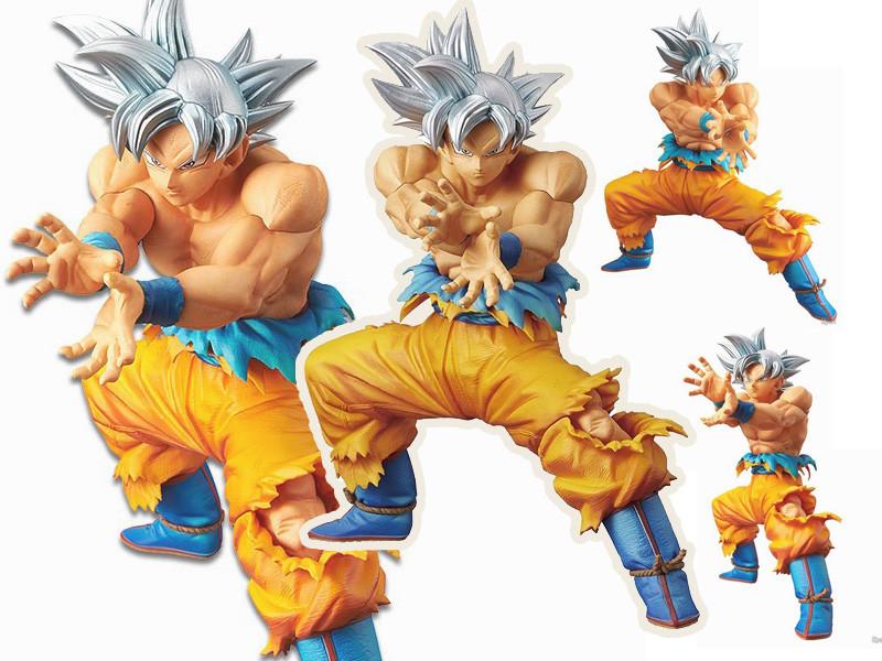 Anime Dragon Ball Jouets Goku Migatte no Gokui Ultra Instinct Figurine 23cm