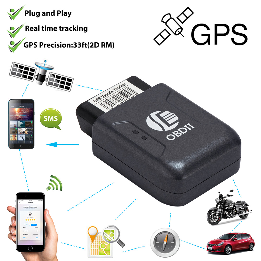 truck car obdii obd2 realtime gps tracker tracking device. Black Bedroom Furniture Sets. Home Design Ideas