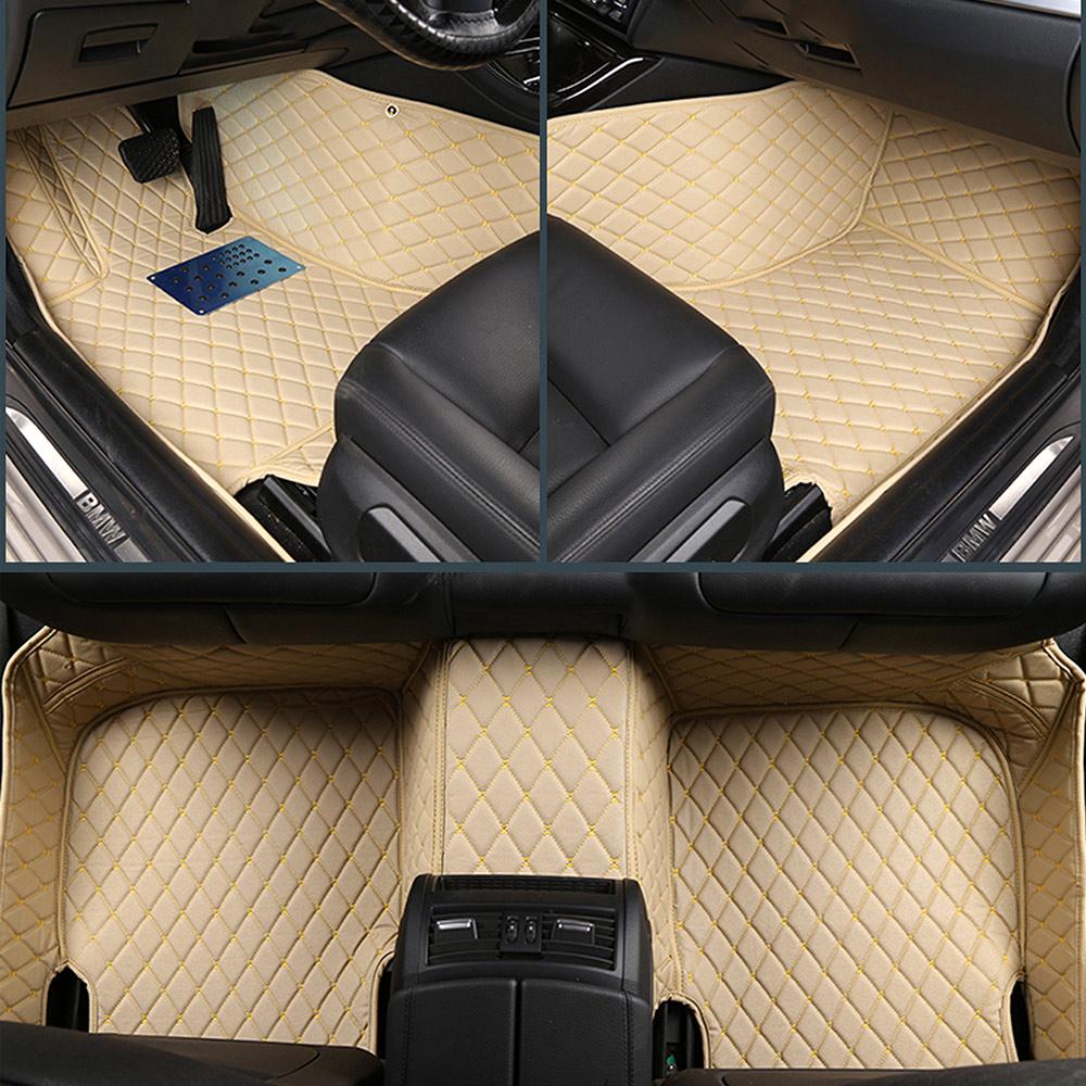 For Audi A5 2-Door 2010-2016 Car Floor Mats Front & Rear