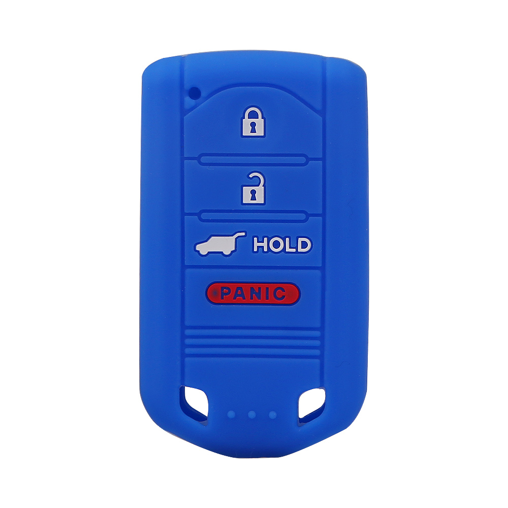 4-BUTTON SILICONE KEY FOB COVER CASE HOLDER REMOTE FOR
