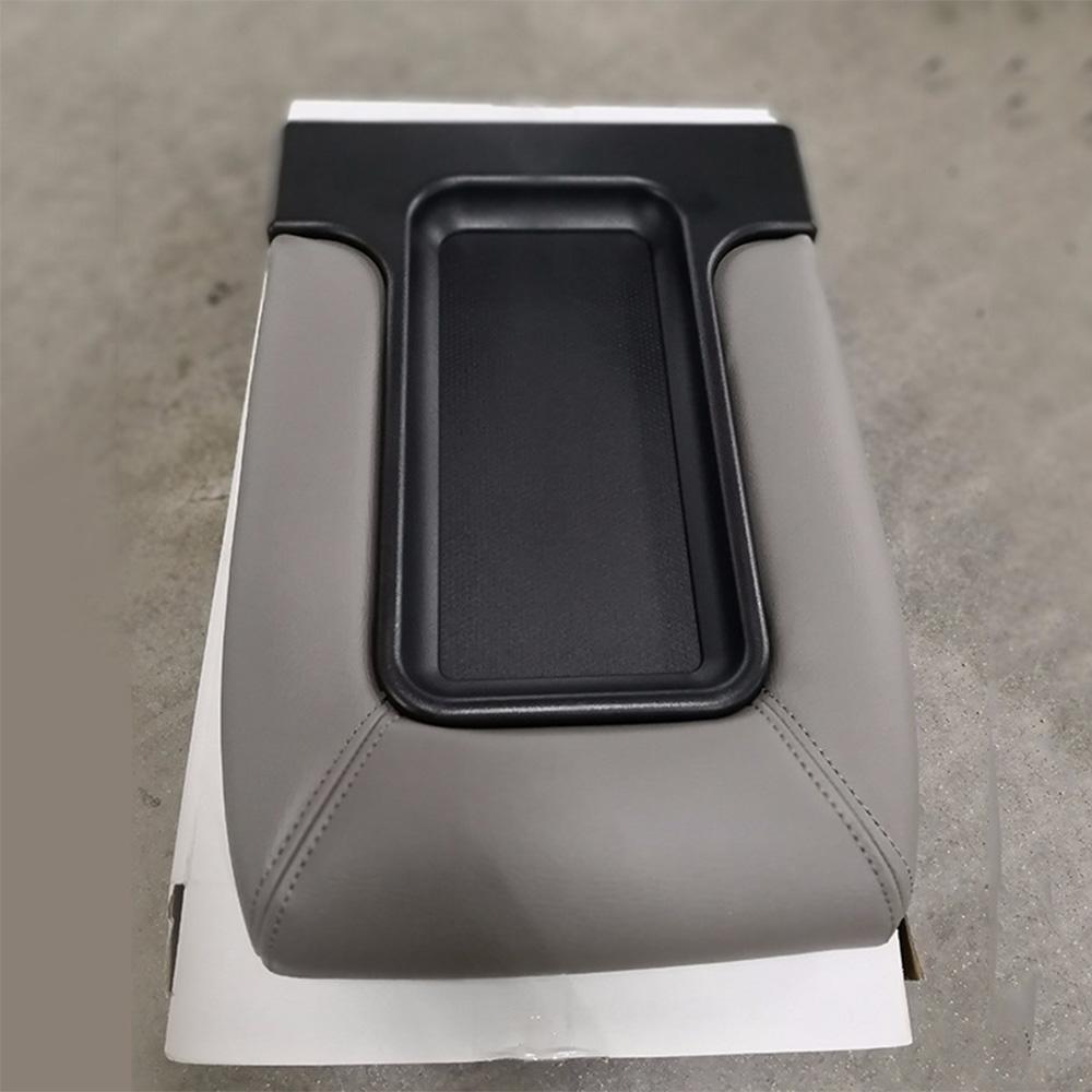 Gray Center Console Lid Cover For Chevrolet Silverado Tahoe//GMC Sierra 2001-2006