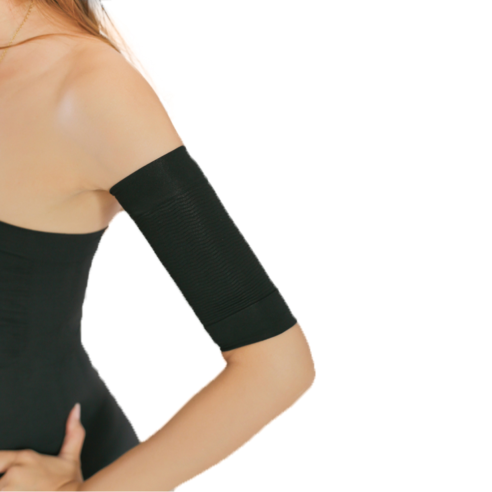af399d9ca9 2pcs Women Upper Arm Shaper Slimming Sleeve Wraps Fat Lose Buster Off  Cellulite