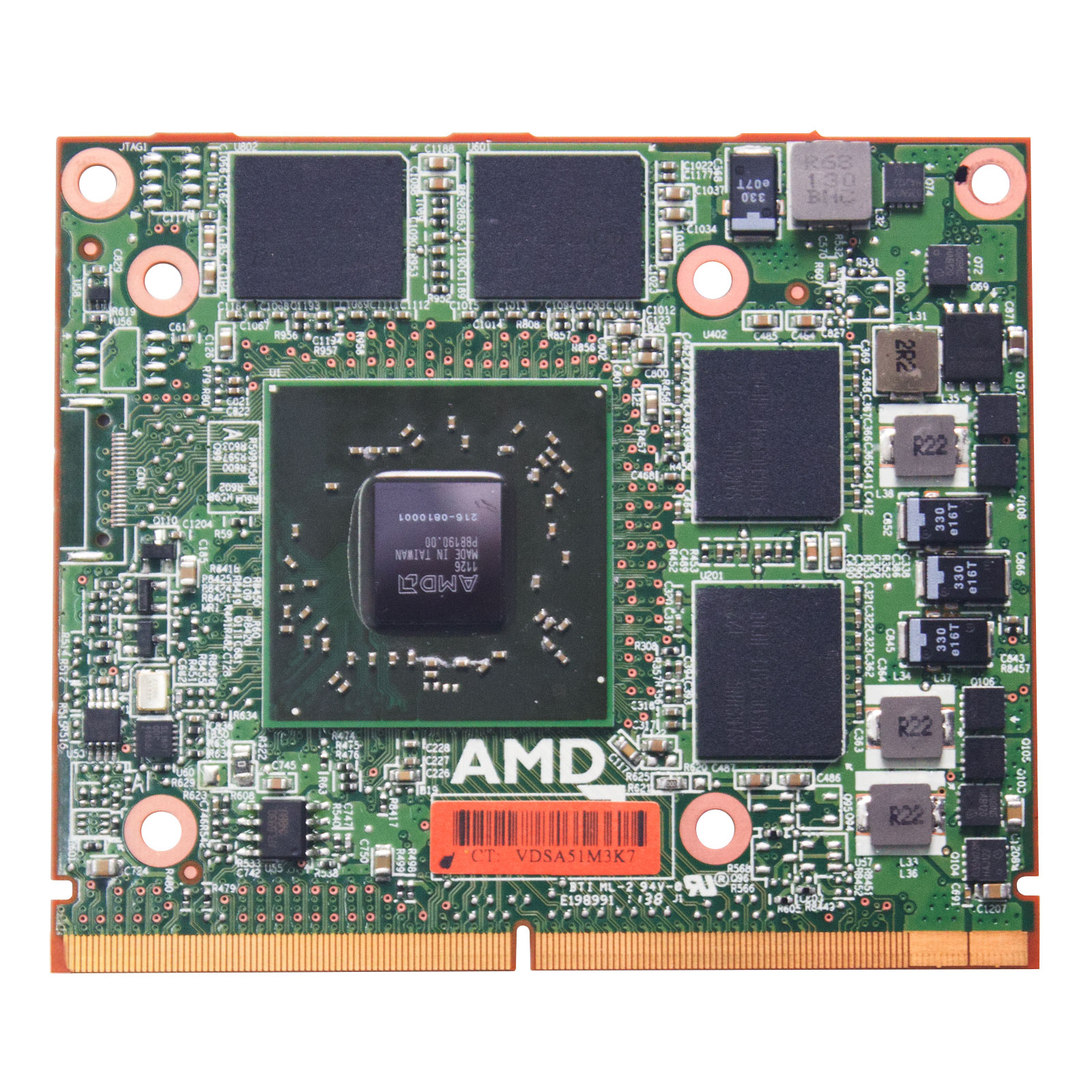 AMD Radeon HD 6770M HD6770 DDR5 1GB MXM III A Graphic Video Card For HP  8560W