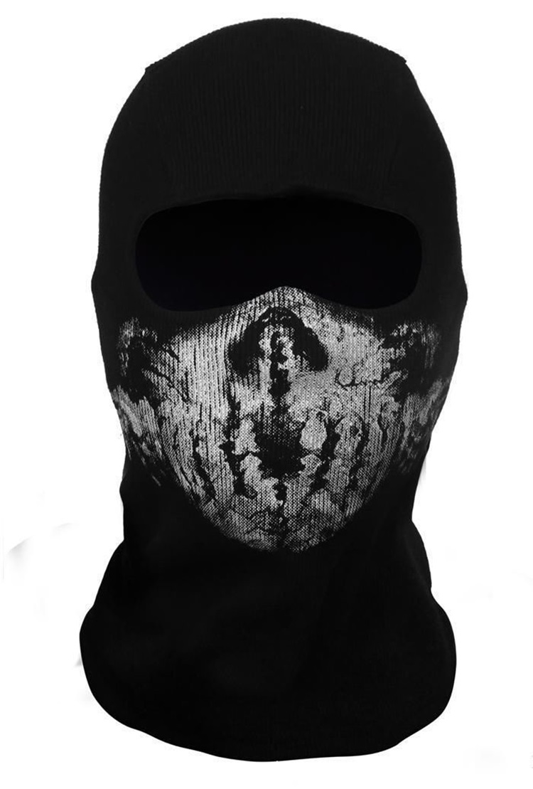 Call Of Duty Balaclava Ghost Skull Face Mask Bike Skateboard Hood ...