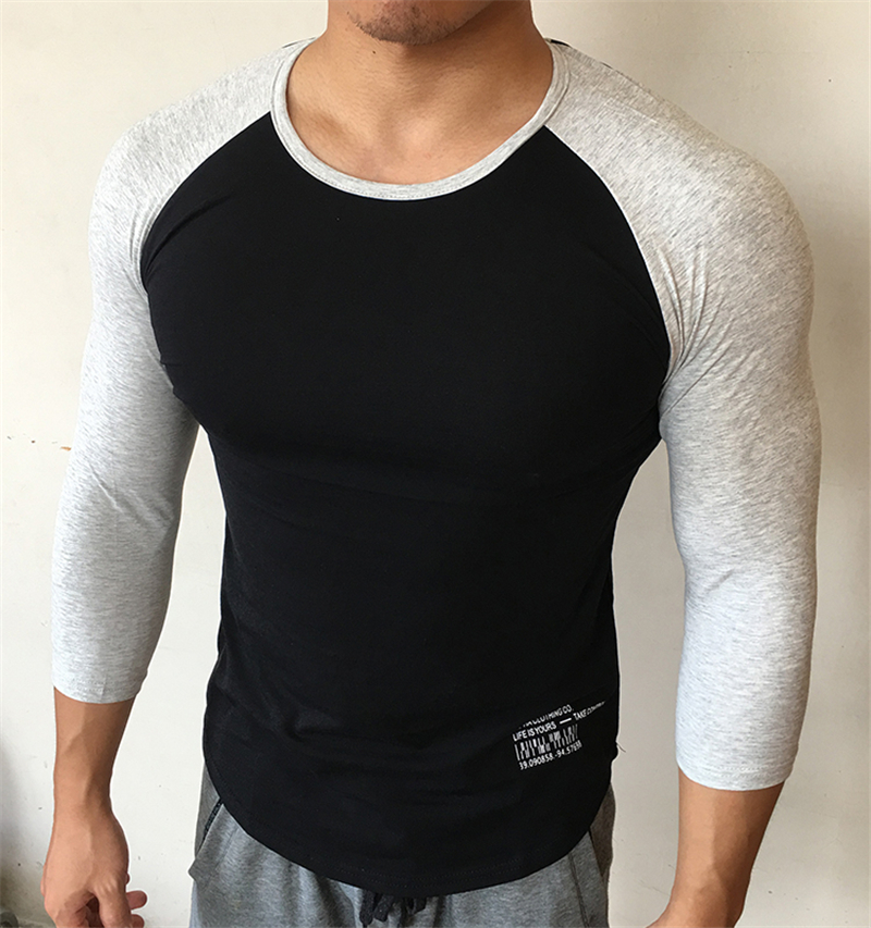 Men T-Shirt 3D Printing Short Sleeve Round Neck Tops Casual Summer Blouse Fitness Sport Tees YQZB