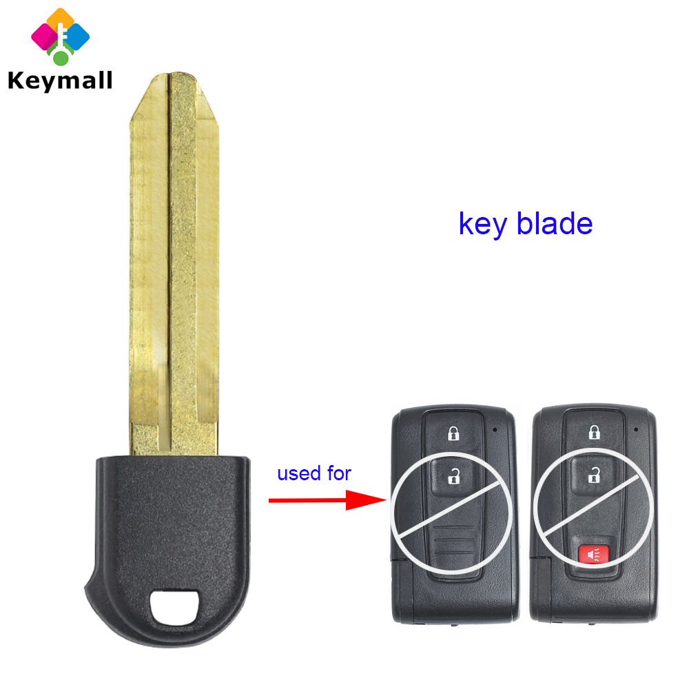 2pcs Silicone fob Key Cover Holder Protector for 2004-2009 Toyota Prius MOZB21TG