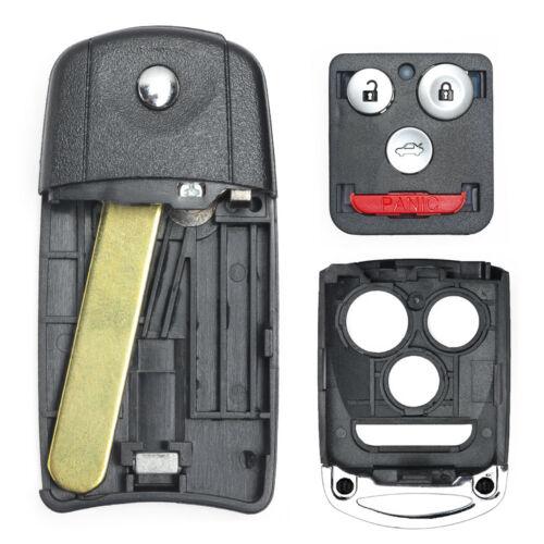 For Acura MDX RDX TL TSX ZDX Honda Remote Key Shell Case