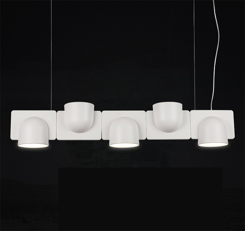 Details About Modern Igloo Led Pendant Light Chandelier Study Office Hanging Ceiling Lighting