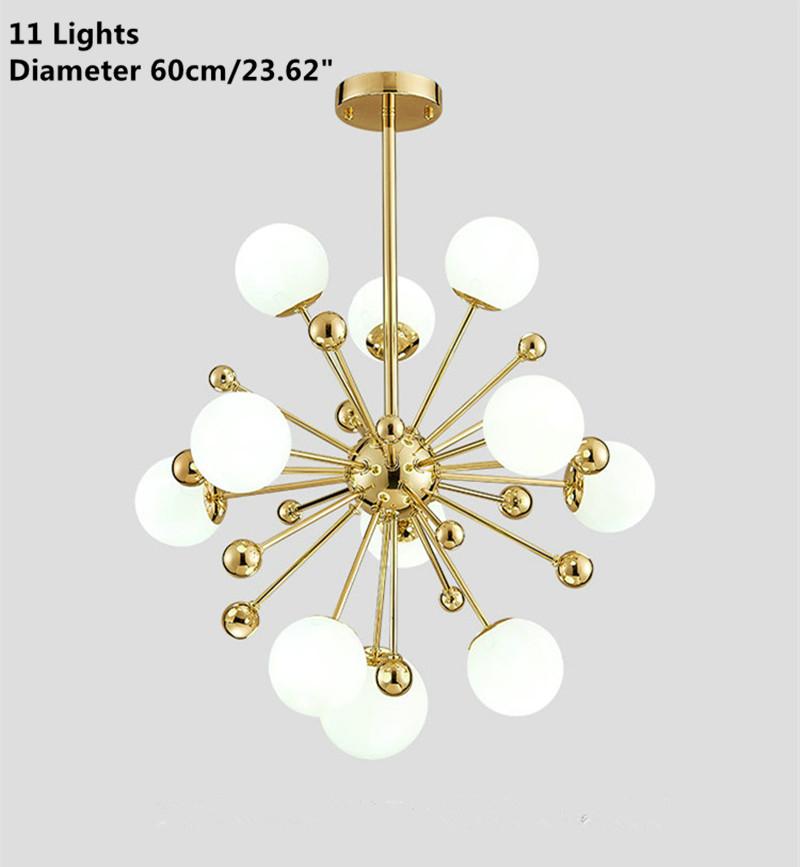 Modern gold spark glass chandelier hanging pendant lamp ceiling modern gold spark glass chandelier hanging pendant lamp aloadofball Images