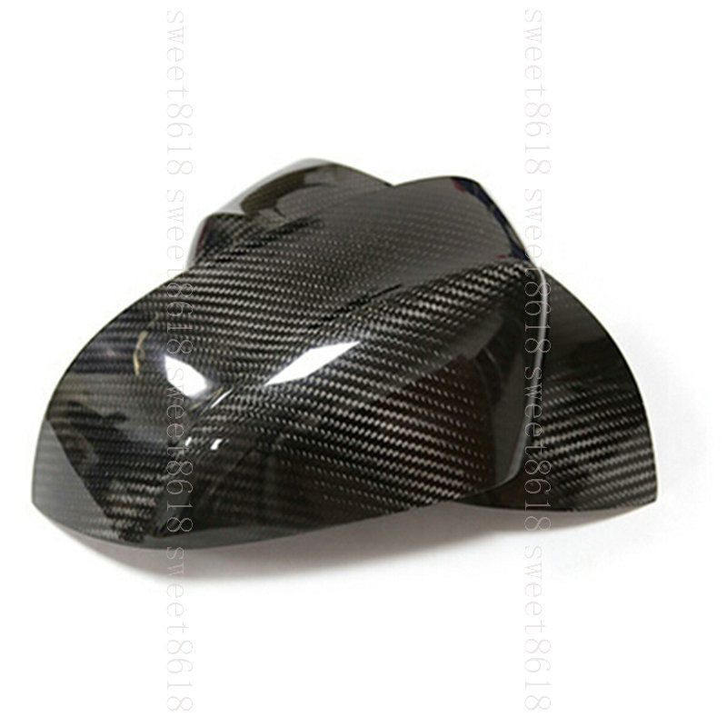 2pcs Real Carbon Fiber Side Wing Mirror Replace Cover Case For BMW X3 X4 X5 X6
