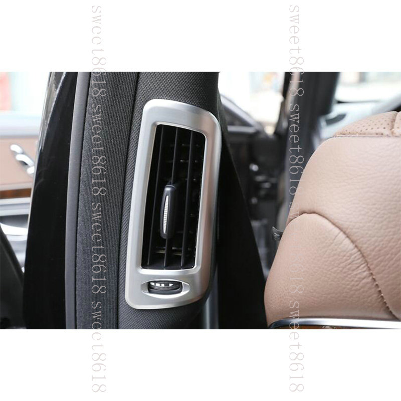 For Mercedes Benz S Class W222 S300 Pillar Post Air Outlet Vent Frame Trim 14-17