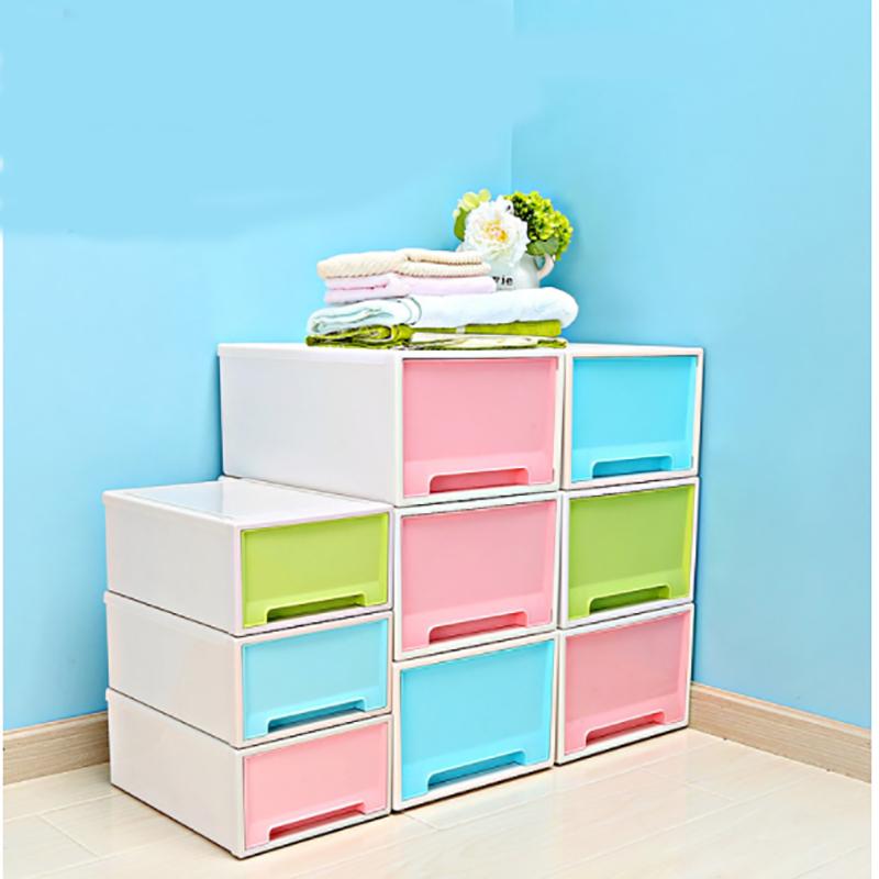 Diy Desktop Drawer Finishing Storage Box Toiletry Cosmetics Organizer Holder