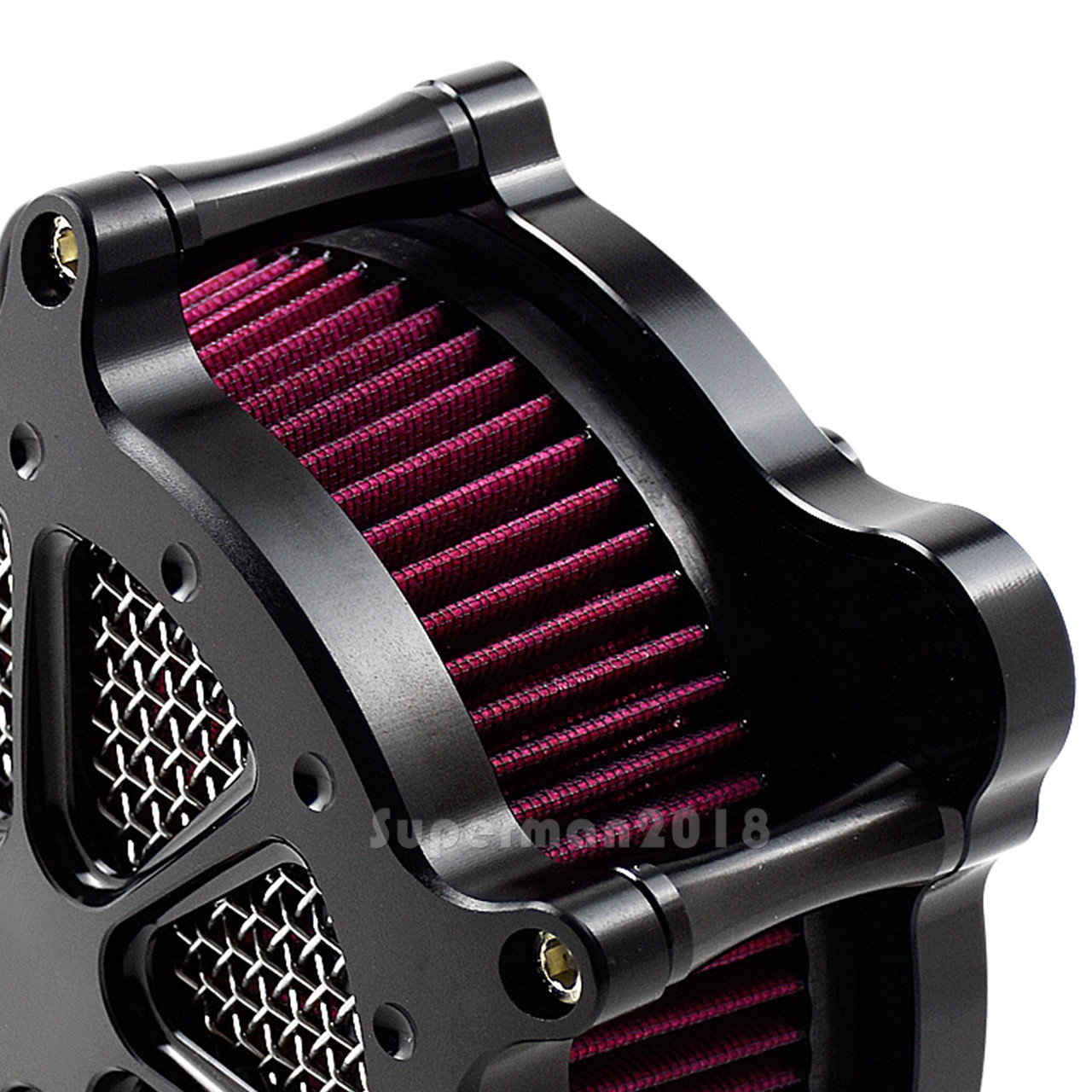 Spots Air Cleaner Blue Intake Filter For Harley Dyna Softail 93-15 Touring 93-07