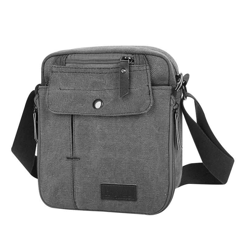 Quality-Vintage-Canvas-Messenger-Shoulder-Satchel-Bag-Work-Travel-Side-Bag-UK