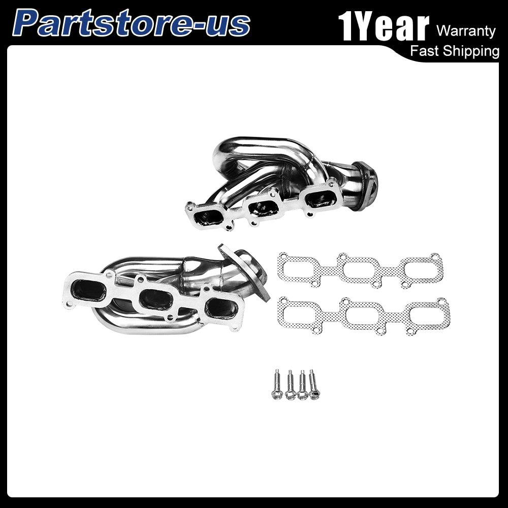 FITS FORD MUSTANG 3.7V6 D2C SHORTY STAINLESS STEEL HEADER EXHAUST MANIFOLD 11-15