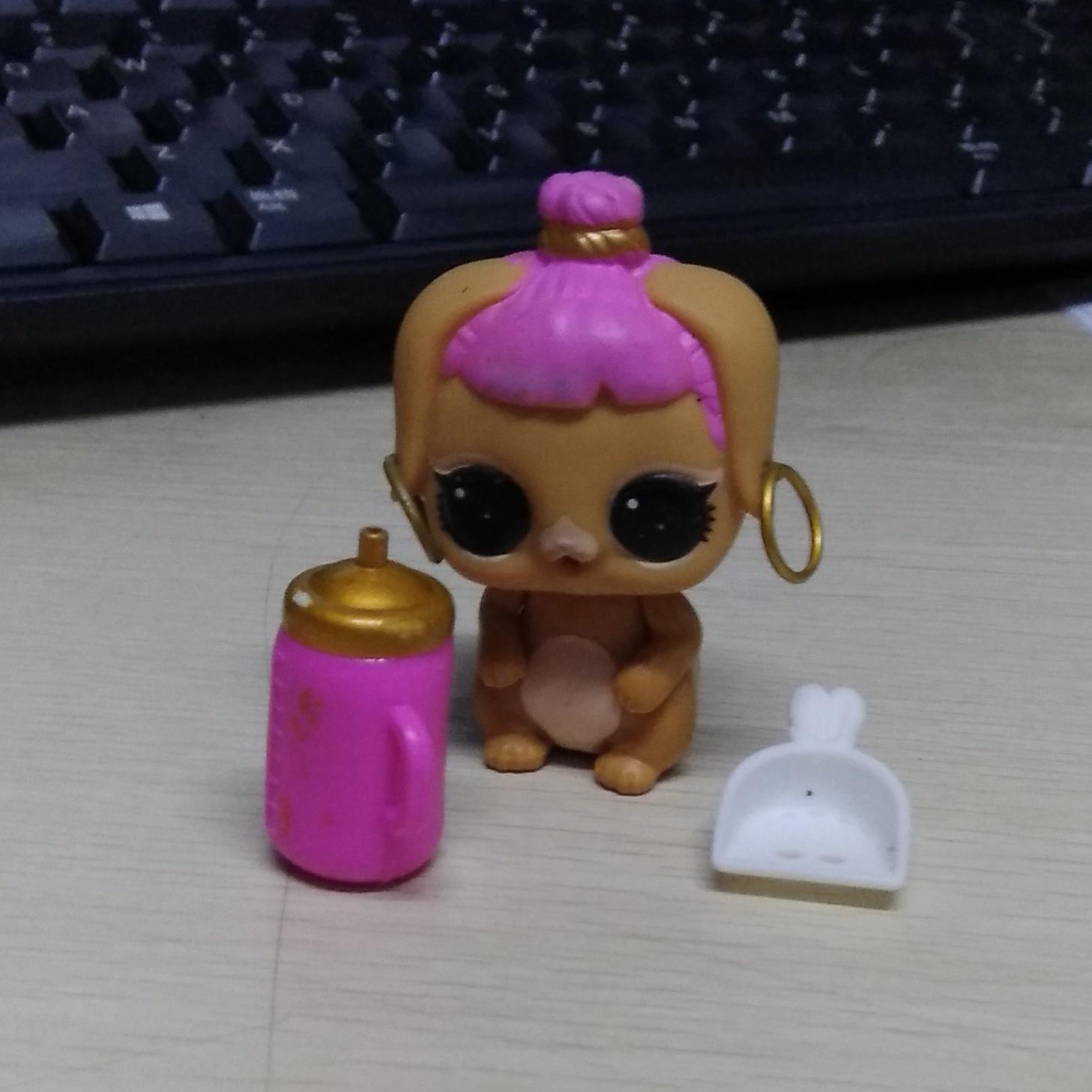 2pcs Shovel /& Bottle Accessories LOL Surprise Doll Pets BUNNY WISHES Series 3