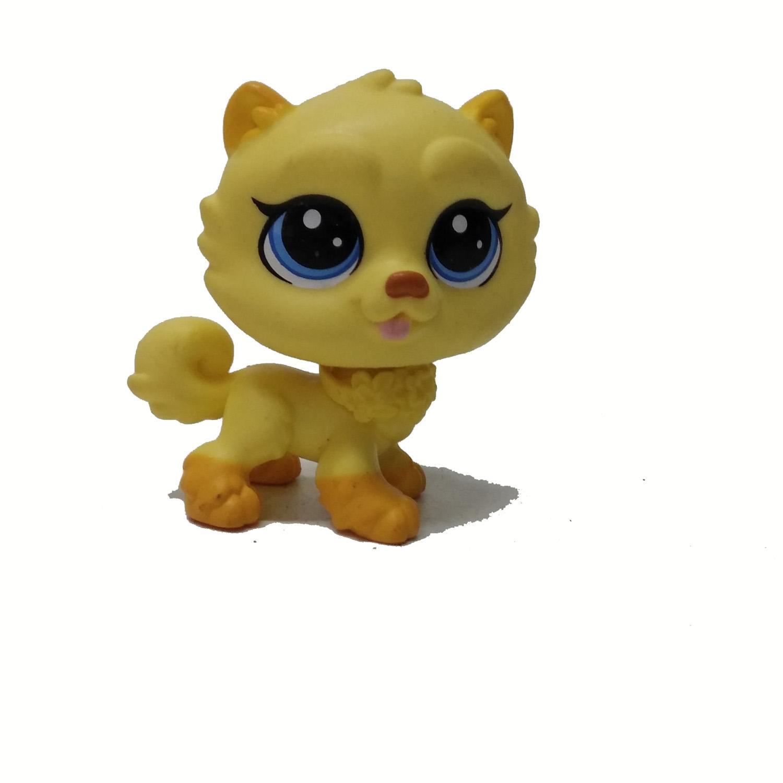 Details about Littlest Pet Shop LPS Chow Chow Dog ILIO FAIRMIST #251 Yellow Puppy Figure Toy