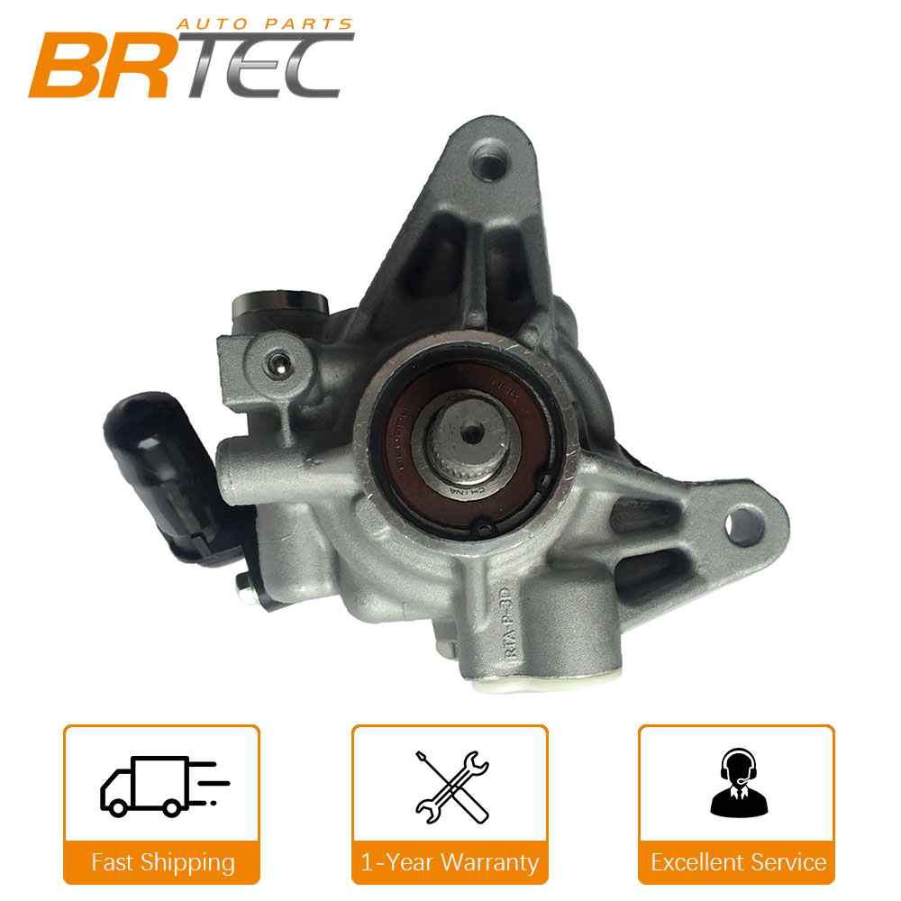 BRTEC New Power Steering Pump For 02-11 Honda CRV Accord