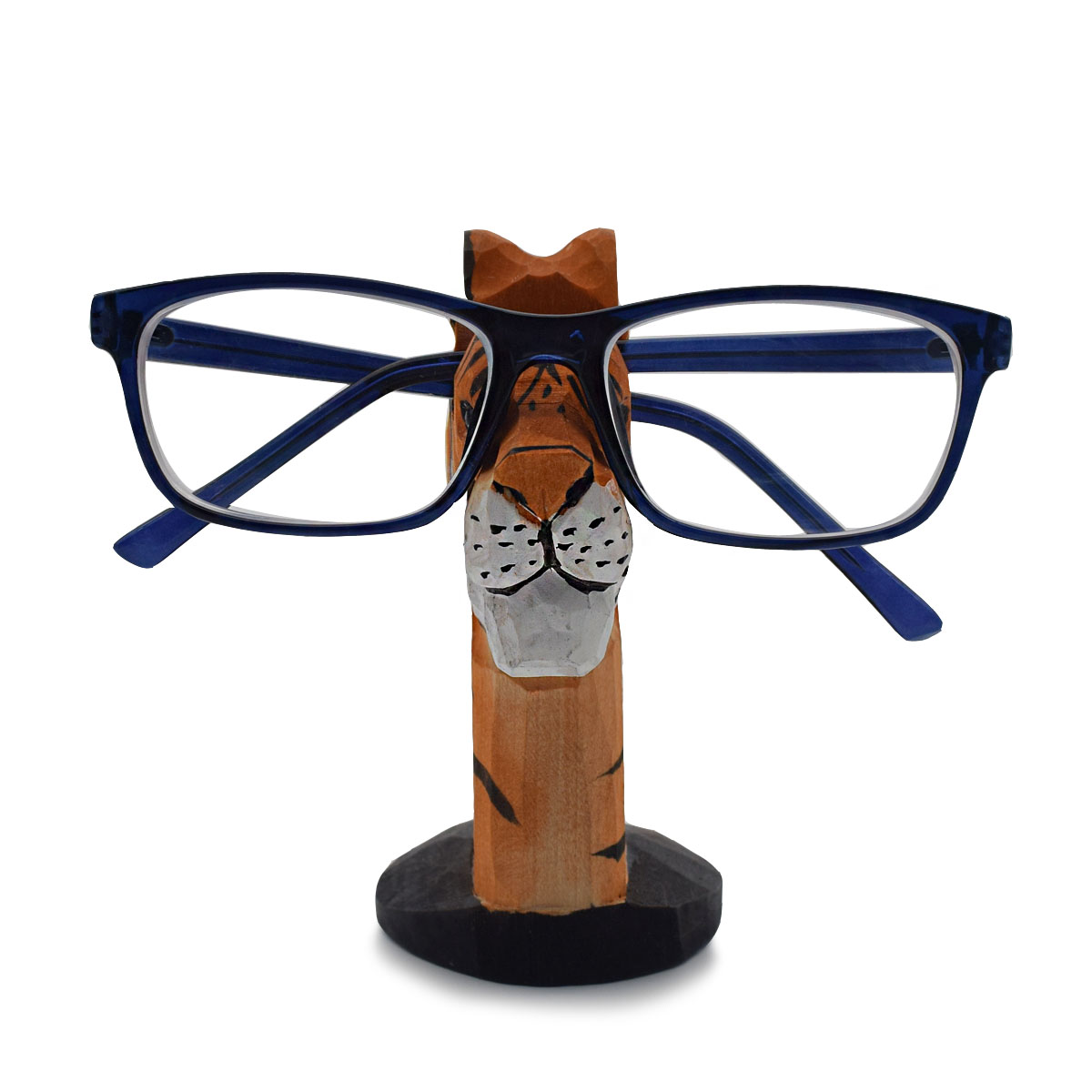 5f68cd756d6ee Handmade Wood Eyeglass Storage Holder 3D Tiger Glasses Display Stand  Organizer