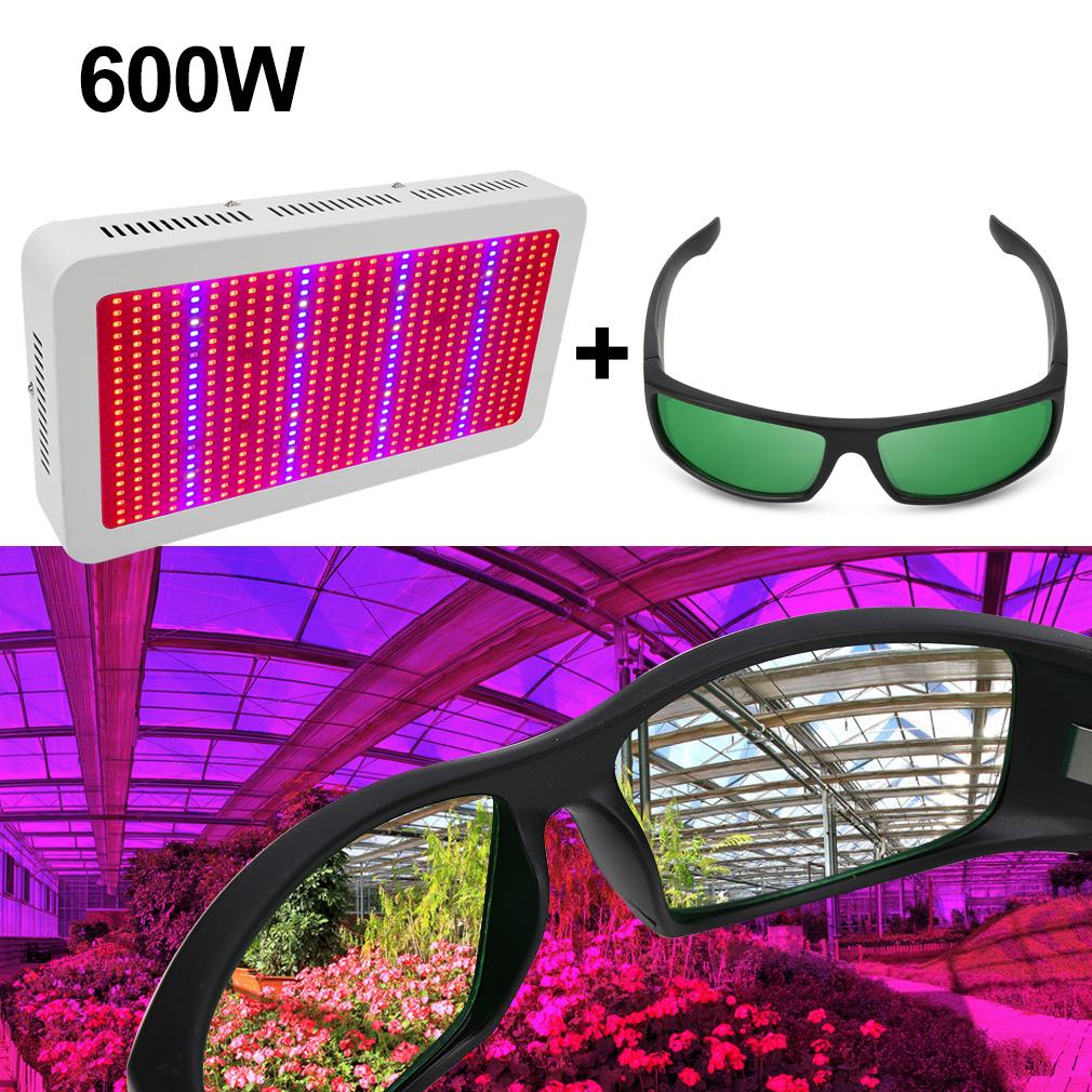 1/2/4Pcs 600W LED wachsen leichte hydroponische Pflanzen+LED ...