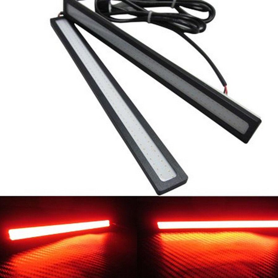 2pcs 12V LED COB Car Auto DRL Driving Daytime Running Lamp Fog Light .