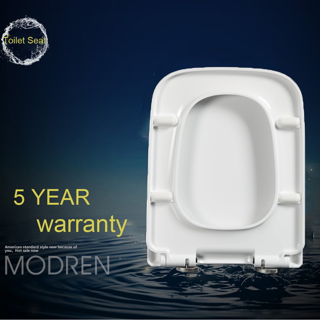 Wondrous Luxury Toilet Seat Soft Close White Square Shape Top Fixing Onthecornerstone Fun Painted Chair Ideas Images Onthecornerstoneorg