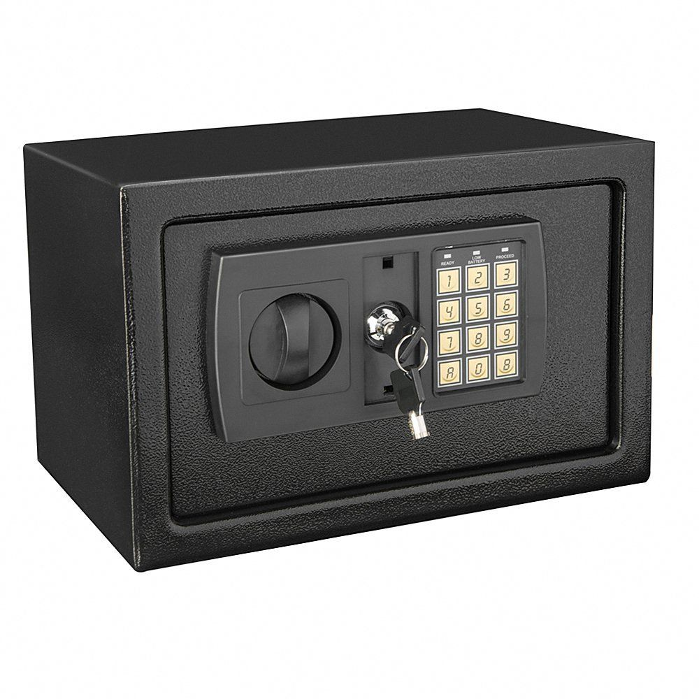 High Security Wall Mounted Key Safe Box Code Secure Lock Storage Fireproof