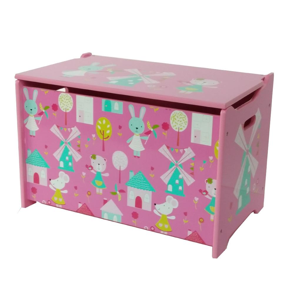 Kinder Spielzeugkiste Aufbewahrungsbox Kinderzimmer Truhenbank Kindermöbel Box eBay ~ 17051639_Wäschekorb Kinderzimmer Mädchen