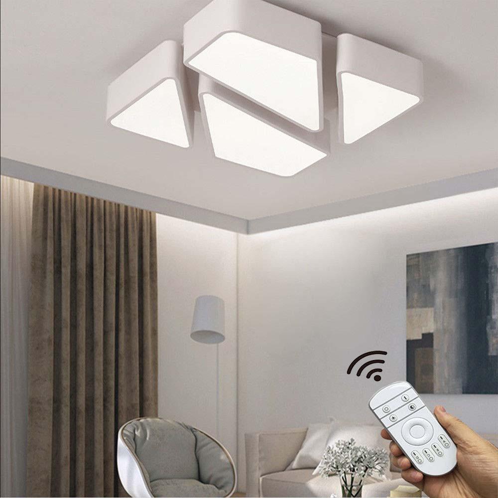 LED 48W Deckenleuchte Modern Design Dimmbar Schlafzimmer Deckenlampe PS6958 L53   eBay