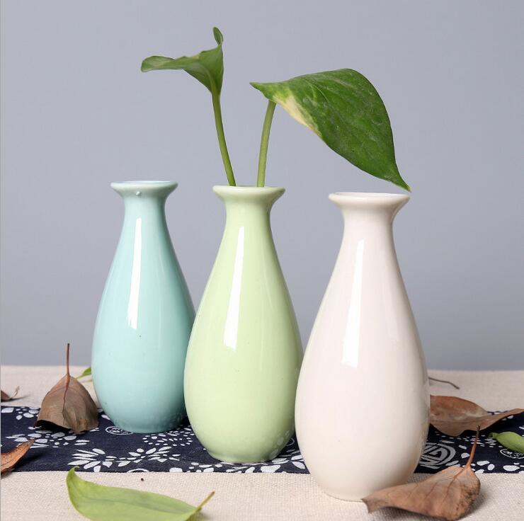 Home Garden Ceramic Pottery Classic Flower Pot Plant Office Mini