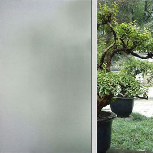 60cmx1m frosted window film sticker privacy frost glass film bedroom bathroom - Frosted Window Film