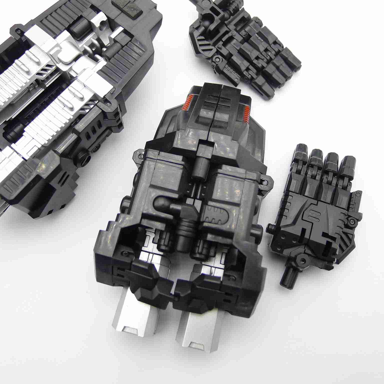 Simple Version PERFECT COMBINER UPGRADE SET Revised Ver For  CW BRUTICUS Black