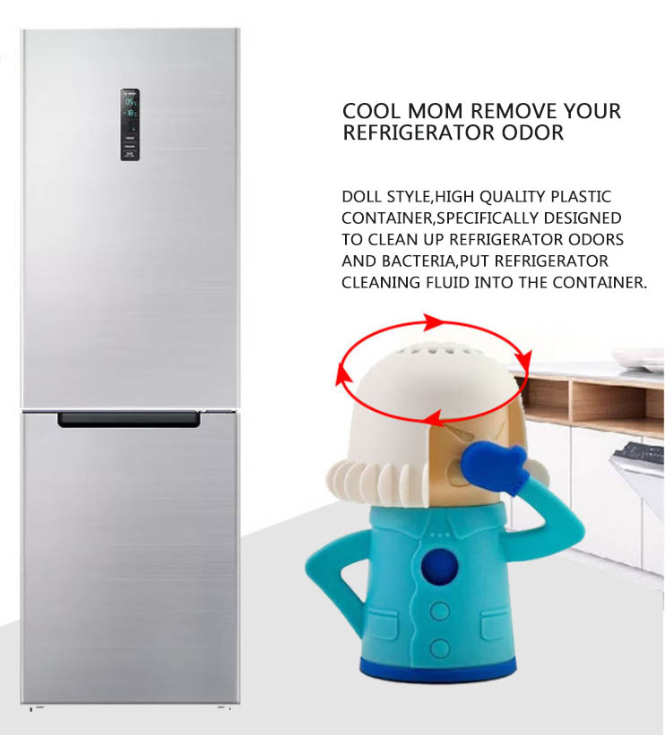 Details about Fridge Deodoriser Cool Mama Refrigerator Cleaner Freezer  Refreshener Remover
