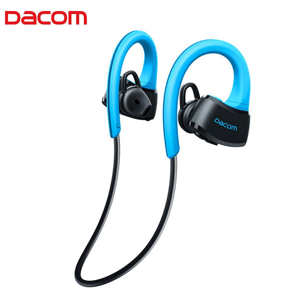 e3a054a83b6 Details about DACOM P10 Bluetooth Headset IPX7 Waterproof Ear Hook Swimming  Earphone Mic FZC