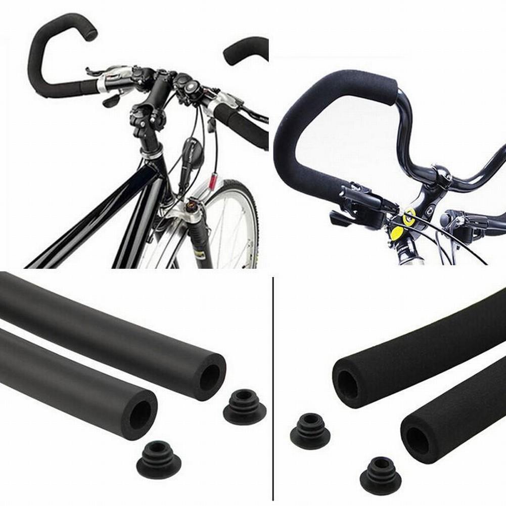 Bike Handlebar Foam Sponge Tube Cover Cycling Butterfly Sleeve Bicycle Grips