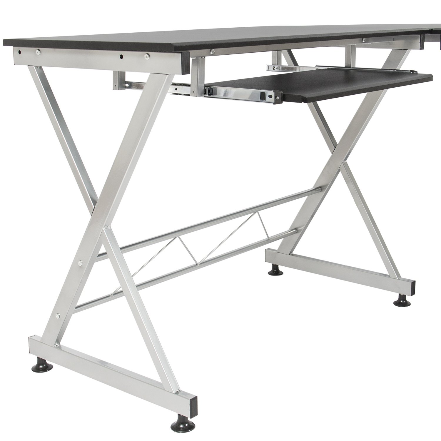 The L Shaped Computer Desk Brings Functional Office Furnishing To A New  Level Of Style, Maximizing Your Work Area. The Wood Material Stain  Resistant, ...