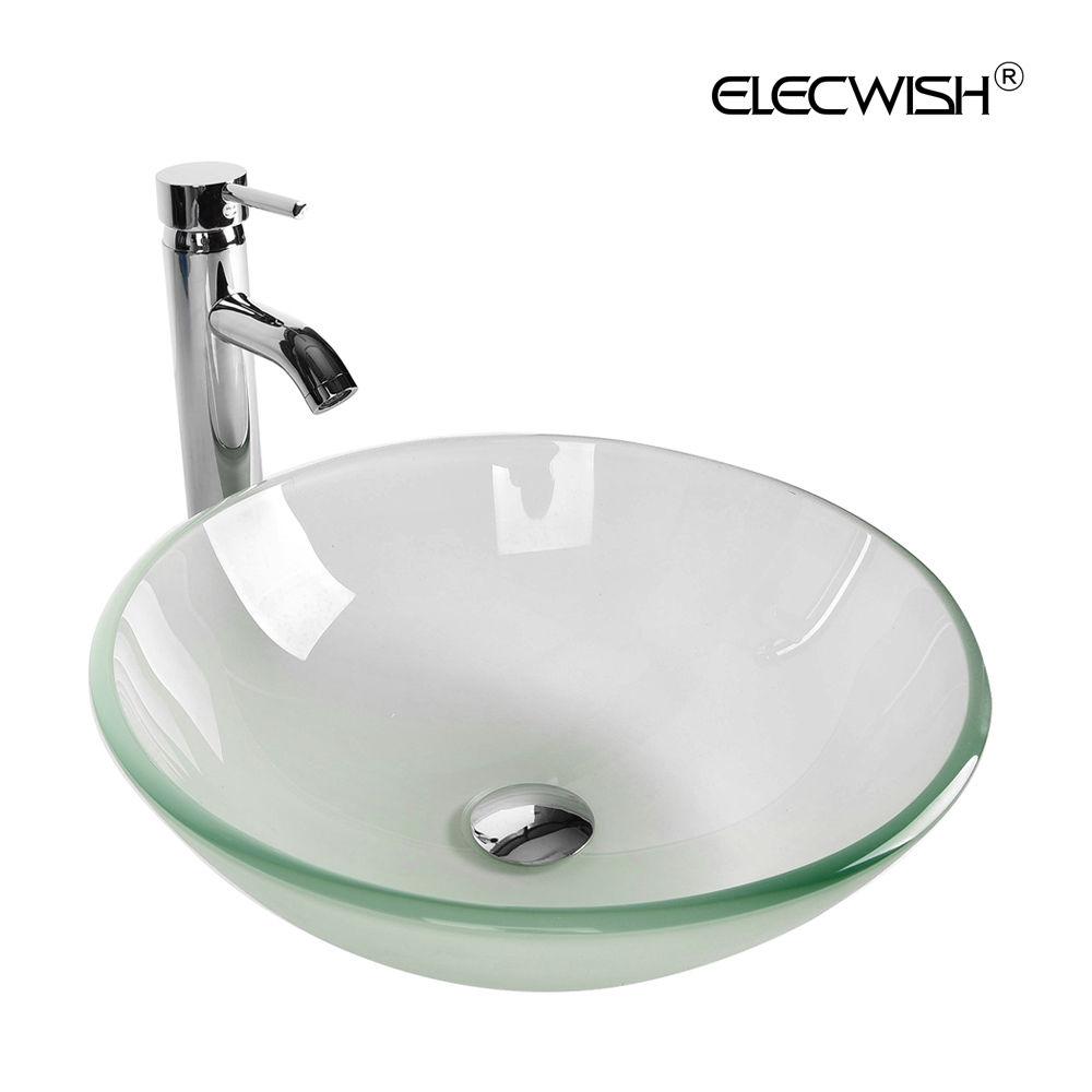 24\'\' Bathroom Single Vanity Cabinet Undermount Ceramic Sink Bowl ...