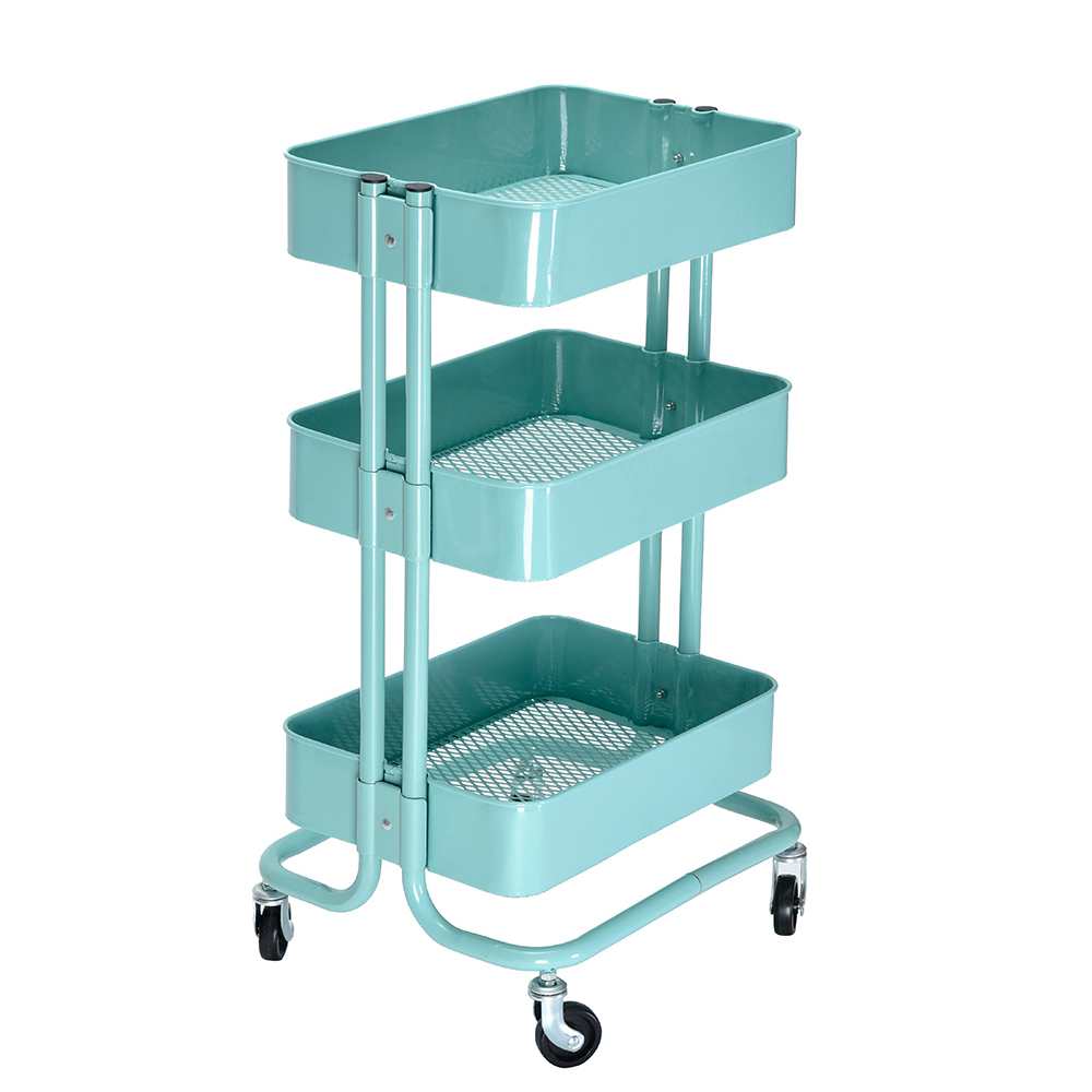 office trolley cart. 3 Tier Rolling Storage Trolley Kitchen Office Home Cart Fruit Rack With Wheels P