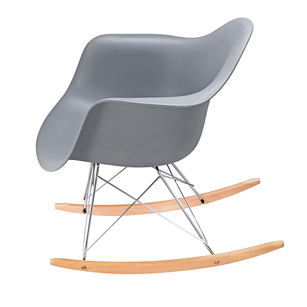 Retro Rocking Chair Eiffel Rocker Armchair With Plastic