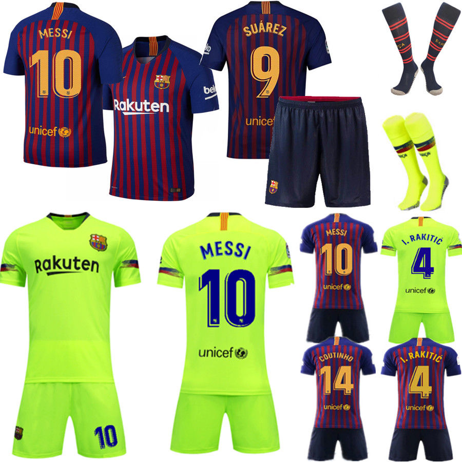 19//20 Soccer Boys Football Club 3-14 Years Jersey Shirt Kids Adult Kits /& Socks