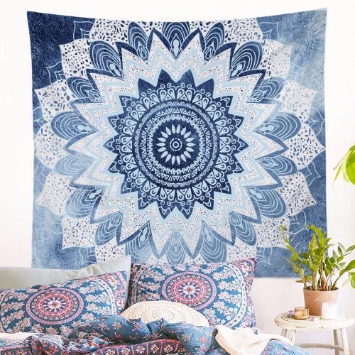 Inde Psychedelic Tapisserie Tenture murale Décor bedroom Rug Blanket Camping pad