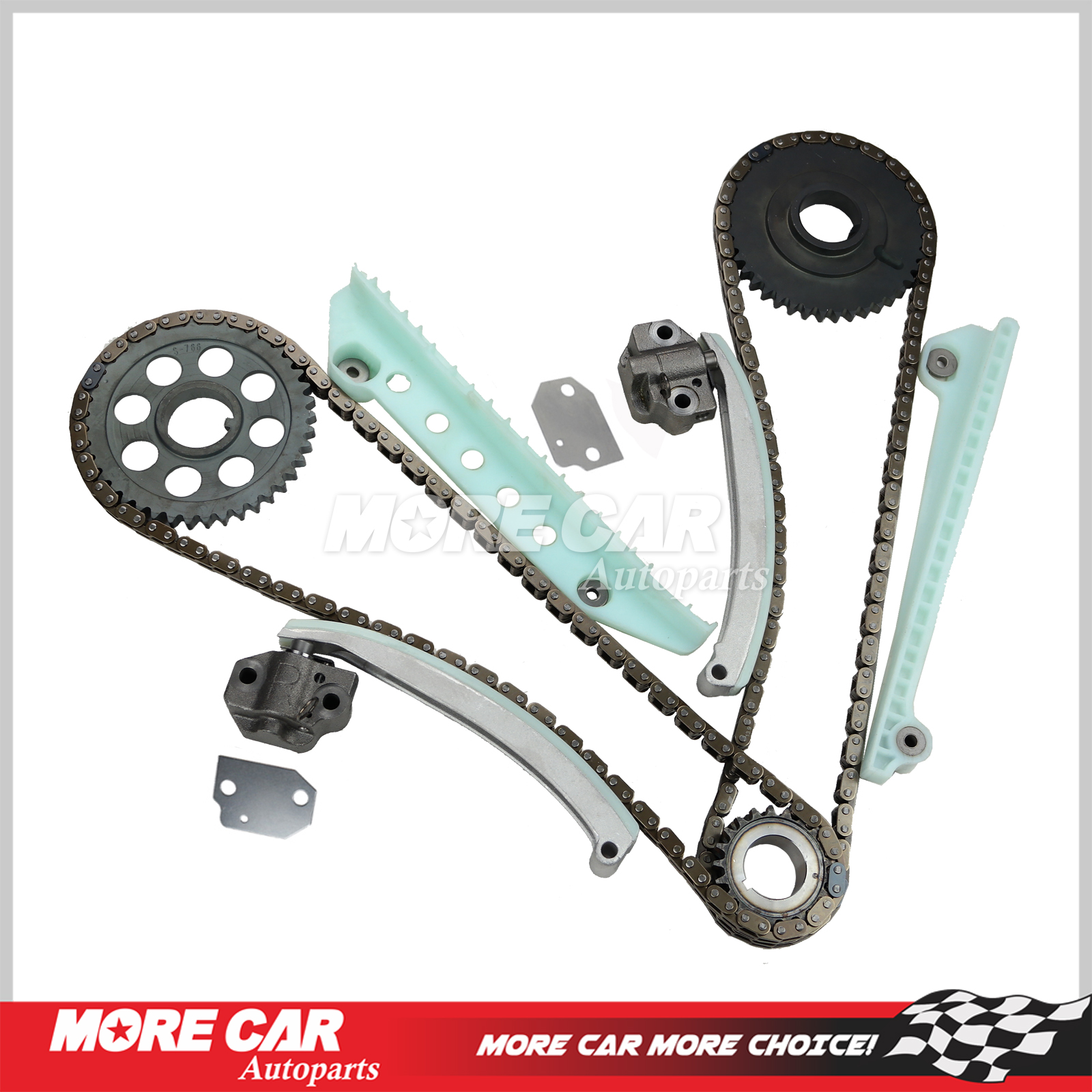 Timing Chain Kit Fit 97 07 Ford E150 F150 F250 Explorer Expediton Belt For Windsor 46l