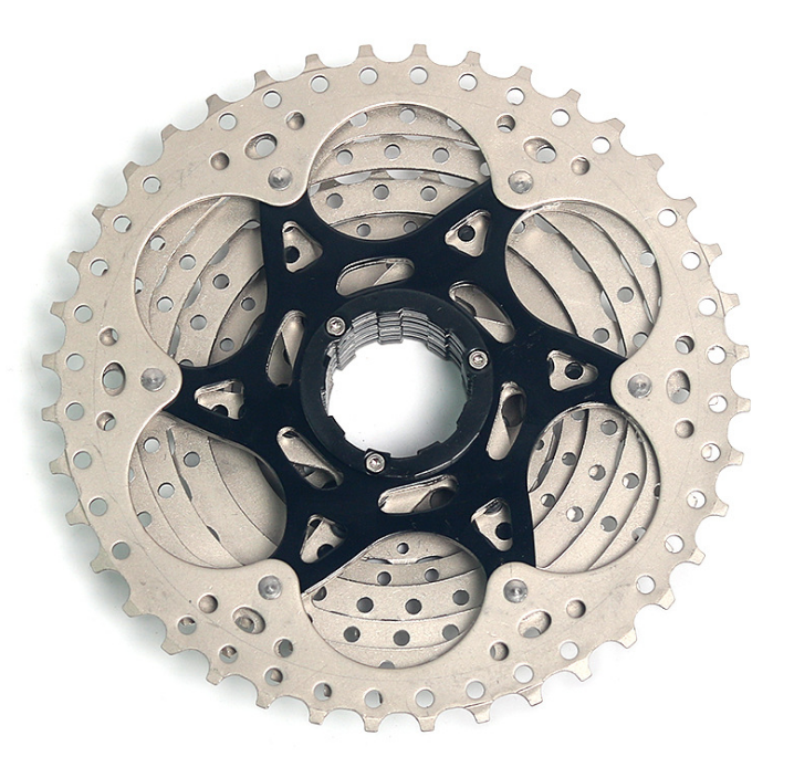 BOLANY 9 Speed Mountain Bike Freewheels11-40T MTB Bicycle Cassette Silver