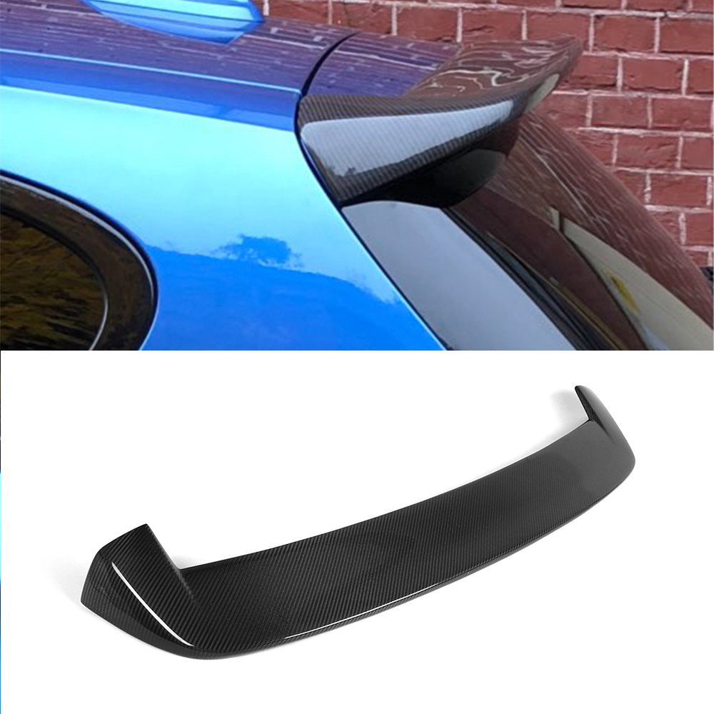 2PCS Gloss Black Rear Bumper Lip Anti-Crash Spoiler Wrap Angle For 1 Series M135i M140i